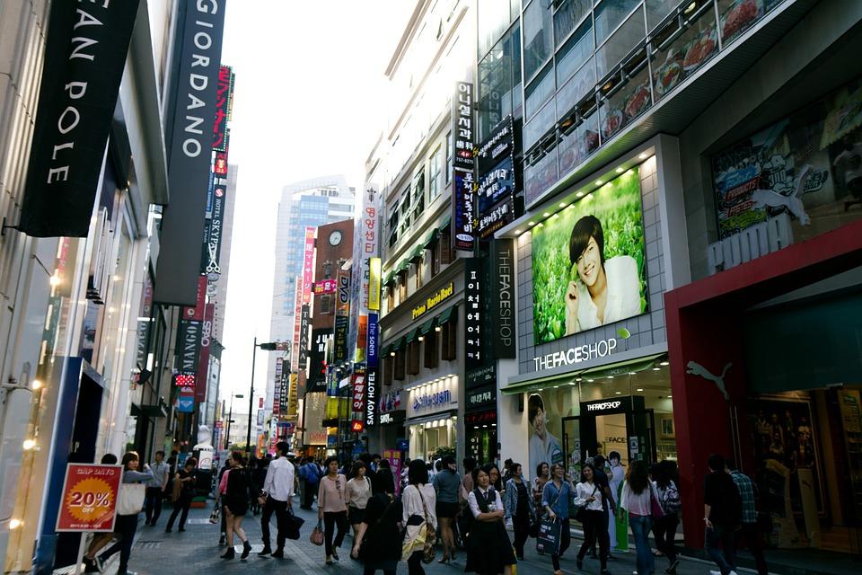 Città coreana per turismo