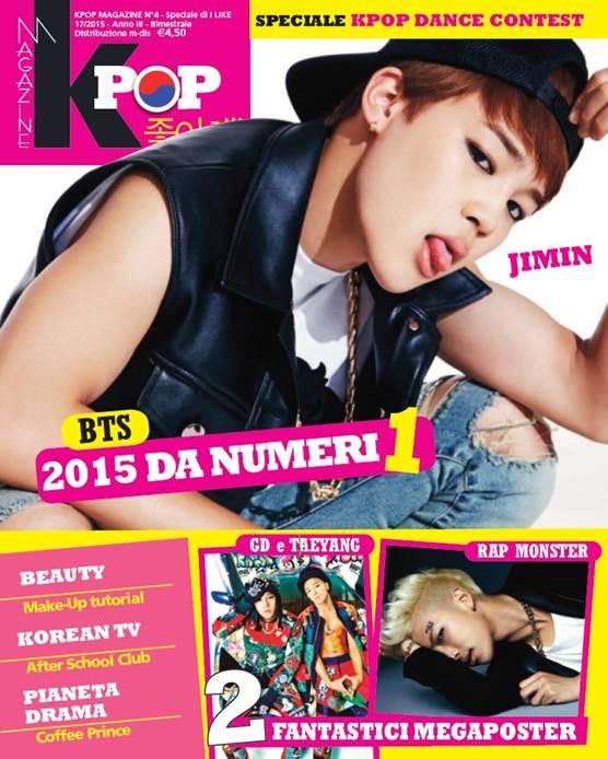 Kpop magazine Panini Italia