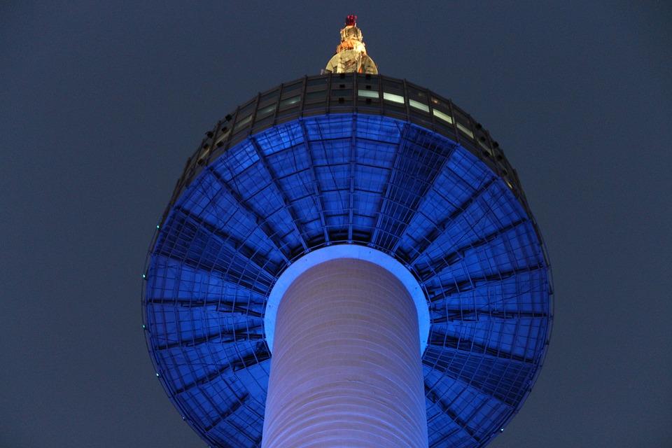 Un monumento di Seoul molto visitato dai turisti