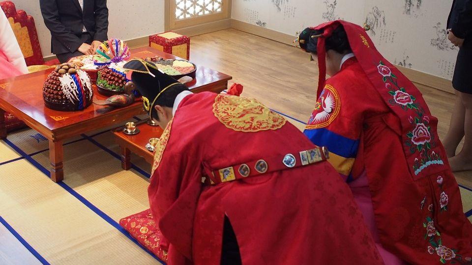 hanbok abito tradizionale coreano