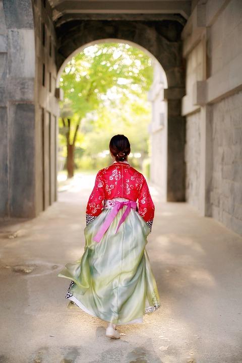 hanbok, costume coreano tradizionale