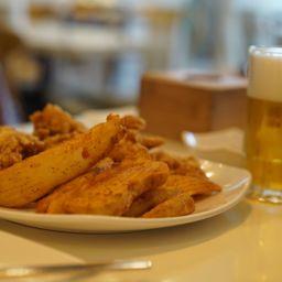 Pollo fritto alla coreana e birra