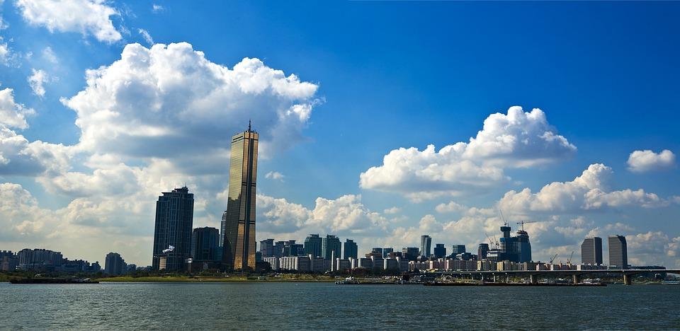 Panorama dell'Isola di Yeouido