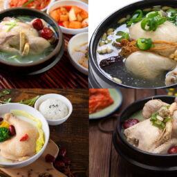Samgyetang pollo coreano