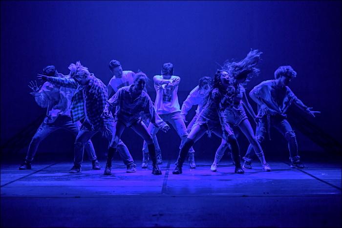 hip hop e la danza contemporanea creoana