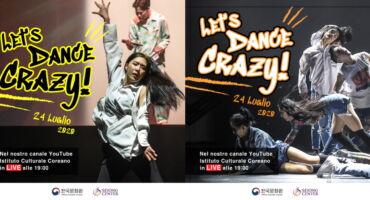 Spettacolo Online - Let's Dance, Crazy