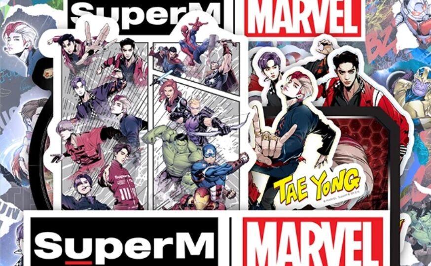 SuperM VS Avengers