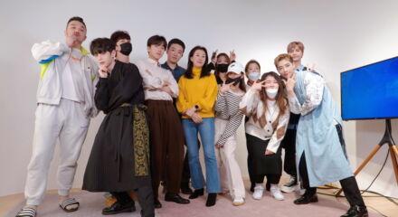 Gruppo di artisti coreani