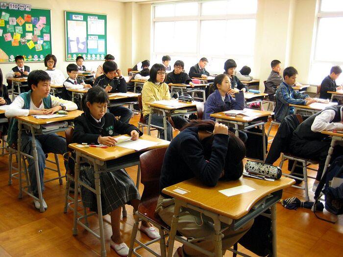 Il sistema scolastico in Corea