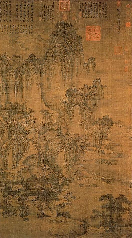 Fan Kuan, artista della dinastia Song Settentrionale, famoso per le sue montagne immerse nella foschia.
