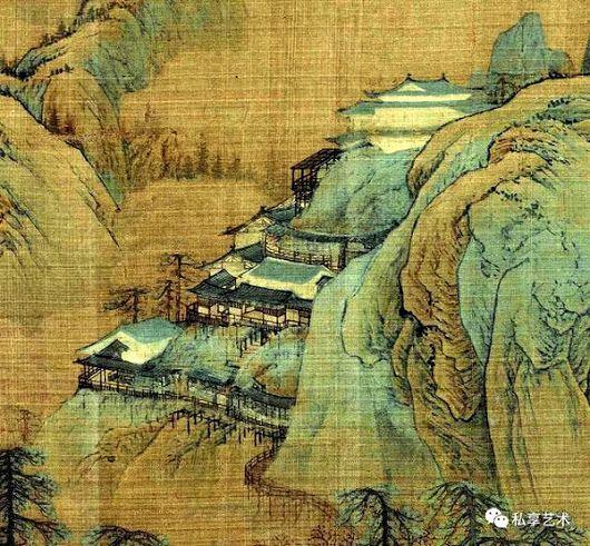 I paesaggi verde e blu di Zhao Boju