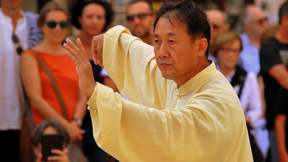 Il taijiquan: arte marziale