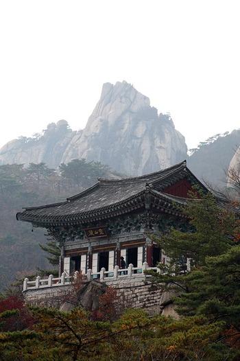 nei templi buddhisti coreani