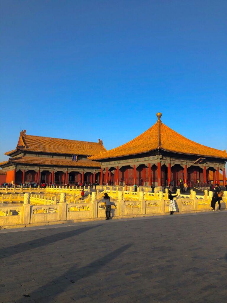 La città proibita situata nel centro di Pechino.