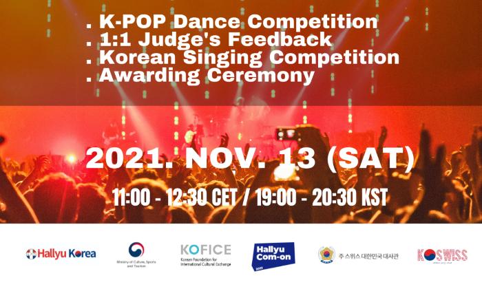 Hallyu Com-On Swiss evento Kpop in Svizzera